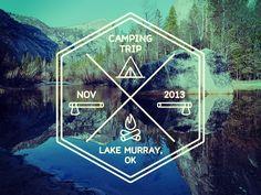Camping Logo by Jonathan Miller