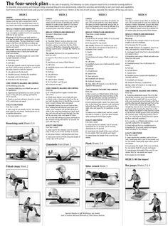 14 best Ski strengthening exercises images on Pinterest ...