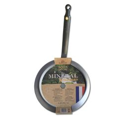 Buy a De Buyer non-stick mineral crepe frying pan online from Kitchen Junky - South Africa. Perfect for crepes. This pan qualifies for FREE DELIVERY!