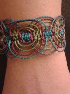 pulseras  idea bracelet macrame