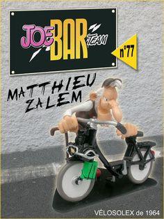joe's bar MATTHIEU ZALEM- VELOSOLEX 1964