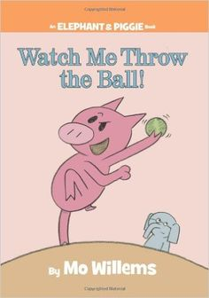 """Watch Me Throw the Ball! --to be used with """"On Your Mark, Get Set...Play Ball!"""" week"""