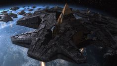Stargate Go'auld ship - Ha'tak