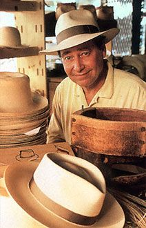 Panama hat, Panama hats — Montecristi Panama hats for men and women, handmade, custom fitted, classic styles by Brent Black