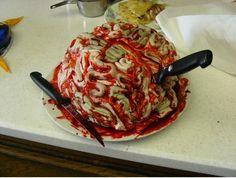 Brain Cake  http://www.instructables.com/id/Brain-Cake/  Rhiannon's Sweet 16 Birthday Cake