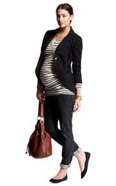 go-to maternity outfit ;P