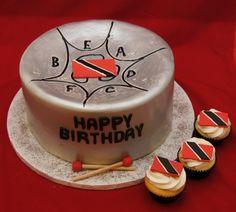 Steel Pan Cake And Cupcakes With Trinidad Flag on Cake Central Cupcake Cakes, Cupcakes, Cupcake Recipes, Trini Food, Drum Cake, Cake Templates, Caribbean Recipes, Caribbean Food, Cake Central