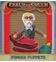 Freud and Couch Magnets...have it and I'm not ashamed