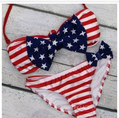 Perfect for any 4th of July swim party
