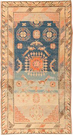 Antique Khotan Oriental Rugs 41861 Detail/Large View - By Nazmiyal