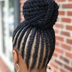 85 Box Braids Hairstyles for Black Women - Hairstyles Trends Box Braids Hairstyles, Flat Twist Hairstyles, Cute Braided Hairstyles, Braided Hairstyles For Black Women, My Hairstyle, Makeup Hairstyle, Wedding Hairstyles, Hairstyles Videos, Simple Hairstyles