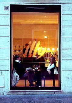 italian coffee bar Illy coffee Love Coffee - Makes Me Happy