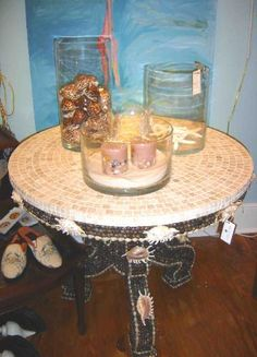 #shell #table by www.rontimpanaro.com