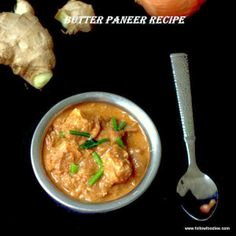 Butter Paneer Masala that can be made in 30 minutes. Primal Recipes, Vegetarian Recipes Easy, Cookbook Recipes, Indian Food Recipes, Real Food Recipes, Soup Recipes, Cooking Recipes, Healthy Recipes, Yummy Food