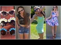 DIY Flower Sunglasses + How to style! - StilaBabe09