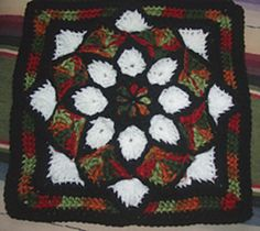 Ravelry: Stain Glass Window Christmas Star pattern by Edie Snyder