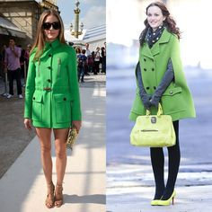 Pin for Later: 15 Times Olivia Palermo and Blair Waldorf Basically Wore the Same Thing When Going Green, Make It a Monochrome Look
