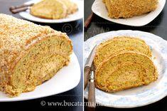 Rulada cu nuca si caramel | Bucatar Maniac My Recipes, Dessert Recipes, Desserts, Caramel, Sweet Tooth, Sweets, Cake Rolls, Ethnic Recipes, Blog