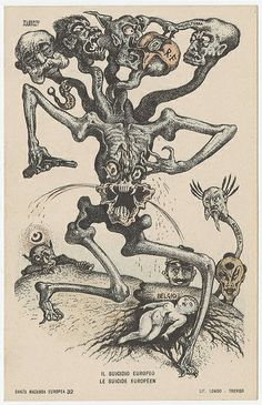 Alberto Martini - Danza Macabre Europea  N.32 by Aeron Alfrey, via Flickr