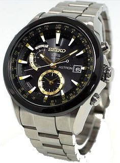 Seiko Astron GPS Solar SAST005 http://www.racewatches.com/Seiko-Astron-GPS-Solar-SAST005.html
