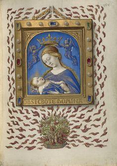 """Book of Hours,"" Georges Trubert, Workshop of Jean Bourdichon, about 1480 - 1490. 
