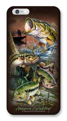 Largemouth Bass iPhone 6 Wildlife Series Phone Case For $12.99
