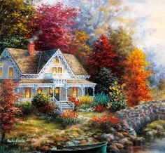 Il mondo di Mary Antony: I romantici cottages di Nicky Boehme