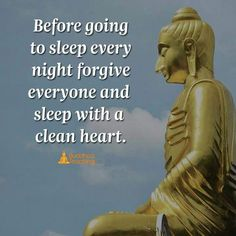 This quote simply means the mind works better when at peace. A person would find it difficult to sleep at night when he or she has a grudge or conflict with someone which can alter sleep and weaken the body. Also lack of sleep because of continuous thinking can cause sleep disorders such as insomnia and narcolepsy .