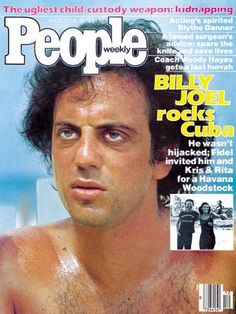 Billy Joel graces the cover of People magazine in the early 70s Music, Good Music, Kinds Of Music, Music Is Life, Rita Coolidge, Iconic Album Covers, Kris Kristofferson, Out Of Touch, Piano Man