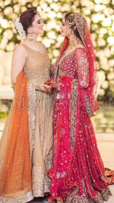 Simple Pakistani Dresses, Pakistani Wedding Outfits, Pakistani Dress Design, Bridal Outfits, Bridal Dresses, Pakistani Girl, Dress Outfits, Pakistani Actress, Bridesmaid Dresses