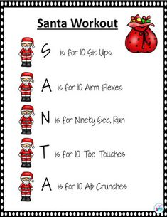 Christmas Instant Activity Warm Up for PE, Brain Breaks and Active Classrooms Physical Activities For Kids, Elementary Physical Education, Elementary Pe, Pe Activities, Movement Activities, Comprehension Activities, Fitness Activities, Music Education, Christmas Games For Kids