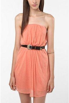 UrbanOutfitters.com > Kimchi Blue Strapless Knit Dress - StyleSays