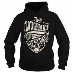 I Love Team LOUGHMAN Lifetime Member (Dragon) - Last Name, Surname T-Shirt T shirts