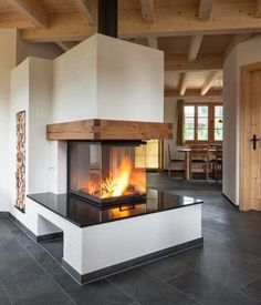 modern chalet country style scandinavian alpine style furniture country style de Best Picture For Home Decor Style stones For Your Fireplace Decor, Contemporary Fireplace, Fireplace Design, Chalet Design, Home, Contemporary Fireplace Designs, Chalet, Fireplace Hearth, Country Style Living Room