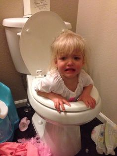 Your toilet won't be clogged. | 19 Reasons You Should Be Glad You Aren't A Parent