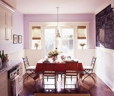 Small Place Style: family room.  I really want to find a good wall on which to use chalkboard paint.