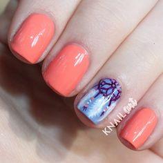 .@knailart | Dream catcher nails!