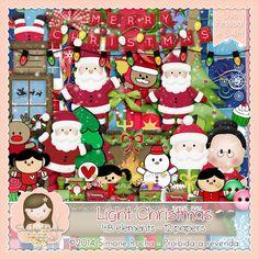 Kit Digital Light Christmas by Simone Rocha