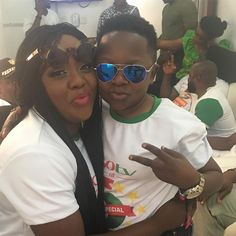Photos: Nigeria Female comedian shares cut photos with popular actor Osita Iheme   Helen Paul is a Nigeria comedian singer and actress best known as a stand-up comedian and popularly known as Tatafo. She said she was with Nigerian actorChinedu Ikedieze also known for playing alongside Osita Iheme in most movies. See more photos...  Very cool photos... Lol.