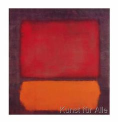 Mark Rothko - Untitled (1962)