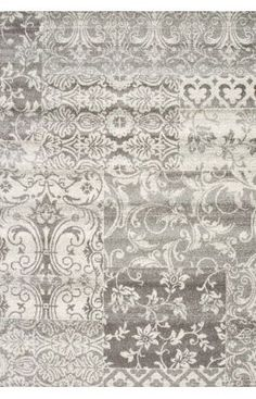 $5 Off when you share! Rugs USA Bosphorus BD03 Silver Rug