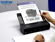 Scanner ADS-1100W milik Brother ini sangat fleksibel dan mampu memindai dokumen mulai dari seukuran kartu nama, serta dapat memindai dokumen dua sisi (duplex) dan juga dilengkapi dengan USB Port, berkecepatan hingga 16ppm. #Brother #BrotherIndonesia #AtYourSide #FYI #FYIIndo #FYITech