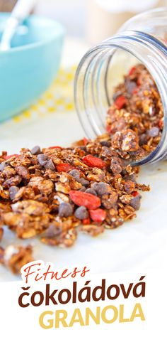 Muesli, Granola, Healthy Desserts, Healthy Recipes, Cholesterol, Smoothie, Food And Drink, Veggies, Breakfast