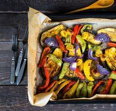 Pieczone warzywa: które jak piec | Party.pl Ratatouille, Ethnic Recipes, Food, Essen, Meals, Yemek, Eten