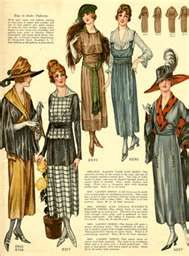 fashion overview 1910s