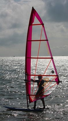 ☆ Windsurfer Off Cowes :¦: By Keith Allso on Flickr ☆
