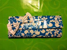 Hawaii Flower Duct Tape Wallet.