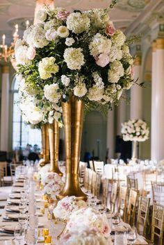 #wedding #TheBiltmore #reception #decor #florals #flowers #centerpiece