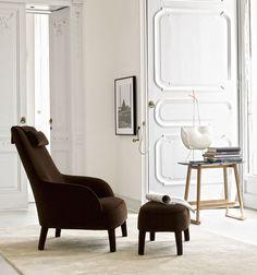 Fauteuils: FEBO – Collection: Maxalto – Design: Antonio Citterio