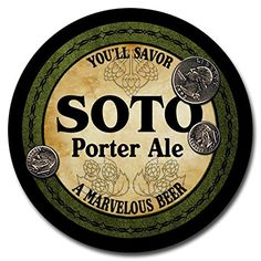 Soto Beer - 4 pack Rubber Drink Coasters ZuWEE http://www.amazon.com/dp/B00LUHNOSW/ref=cm_sw_r_pi_dp_9HSqub06A658J